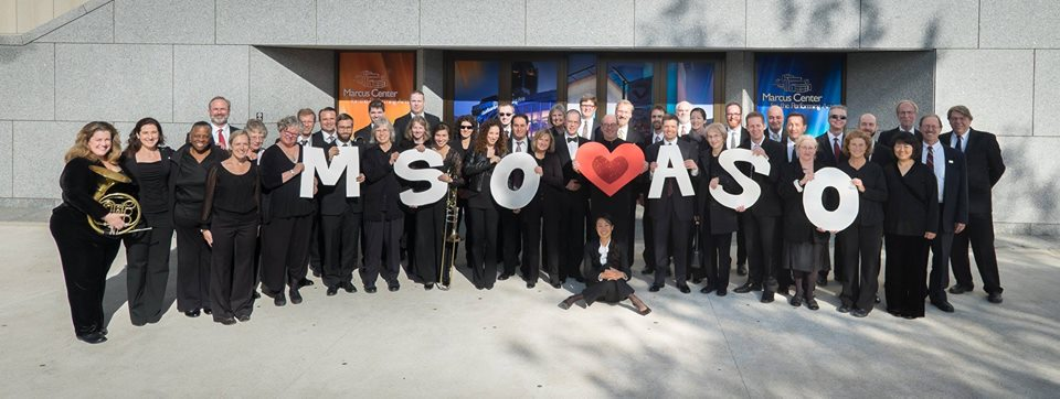 Milwaukee Symphony Orchestra Musicians Heart ASO
