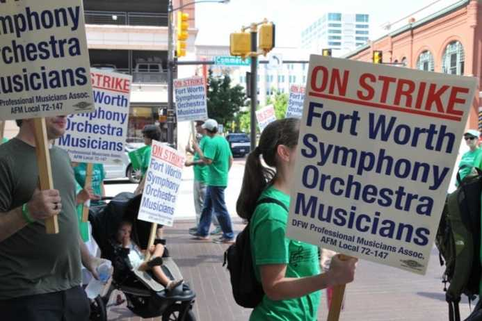 Fort Worth Symphony Orchestra Strike